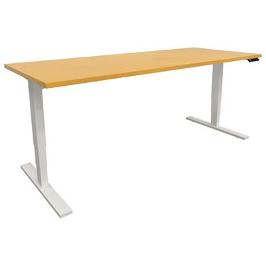 Solid Timber Top Altura Electric Height Adjustable Desk