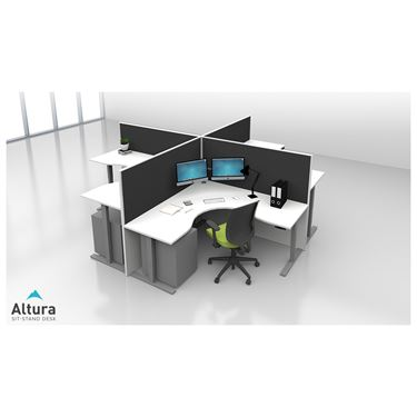 Altura Electric Height Adjustable Workstation