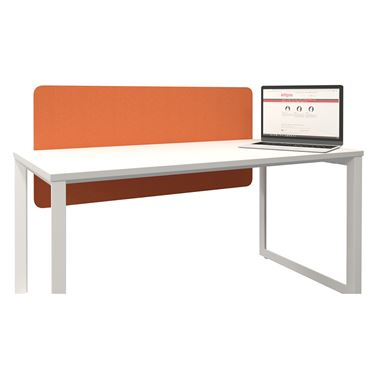Acoustico 12mm Desk Hung Screen