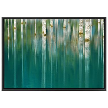 Corporate Artwork - #2 Ghostly Forest Reflections Horizontal