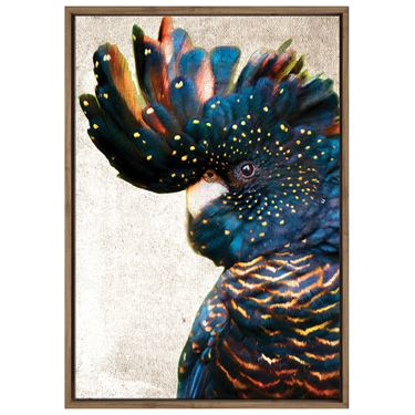 Corporate Artwork - #10 Black Cockatoo Vertical