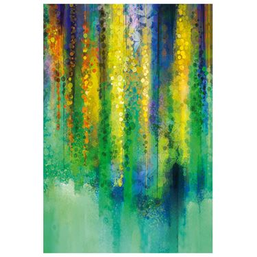 Corporate Artwork - #12 Cascading Colour Vertical
