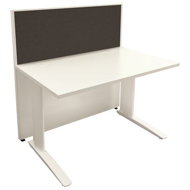Breeze System - Single Sided Panel Screen Workstation