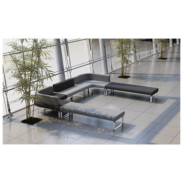 Benchmark Modular Seating System - Straight Lounge