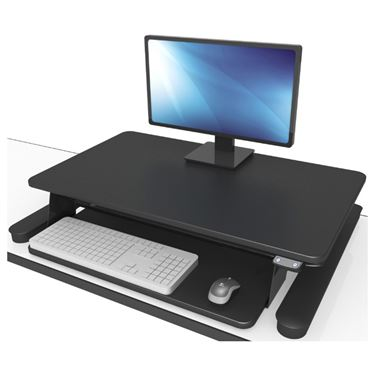 Bob Electric Desktop Sit to Stand Monitor Stand