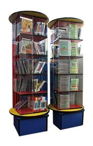 Book Display Spinner