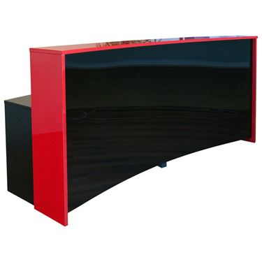 Concave Custom Reception Counter