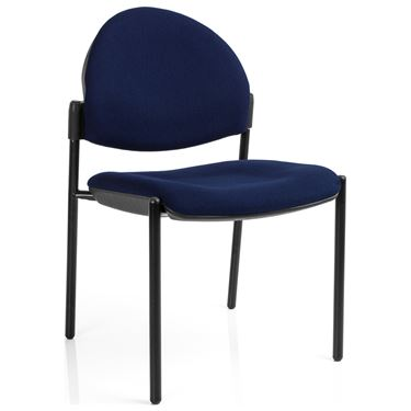 EBF Stacker Round Back 4 Leg Visitor Chair