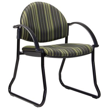 EBF Round Back Sled Base Visitor Chair
