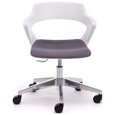 Enzo 5 Star Castors Visitor Chair