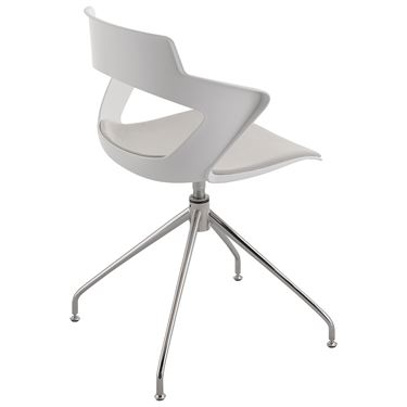 Enzo 4-Leg Trestle Visitor Chair