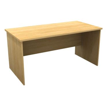 Eco Shapes Straight Desk