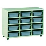 Examiner Mobile Tray Storage - 12 Tote