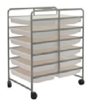 Examiner Mobile Tray Storage