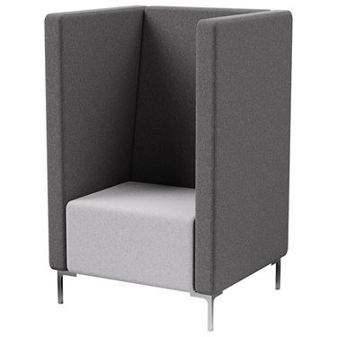 Florence 1 Seater Tall Back with arms