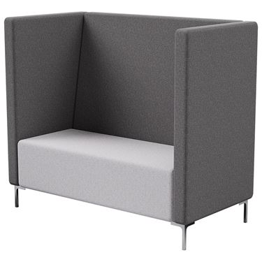 Florence 2 Seater Tall Back with Arms