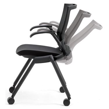 Freelance Mesh Visitor Chair with Arms