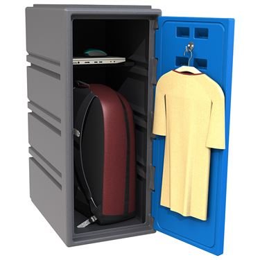 FSP Plastic Locker - Series C - 490W x 485D