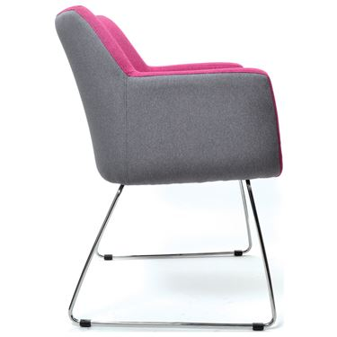 Konfurb Hady Sled Base Arm Chair
