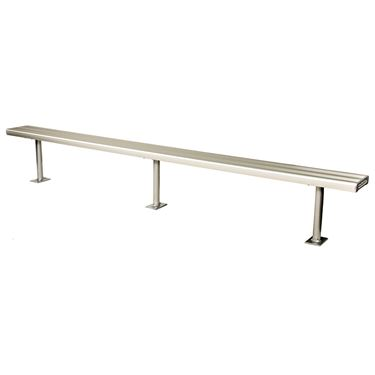 Harvey Bolt Down Outdoor Bench Setting