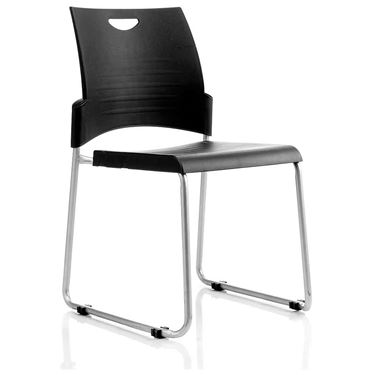 Hello Sled Base Cafe Chair