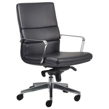 Incorp Medium Back Leather Executive Chair