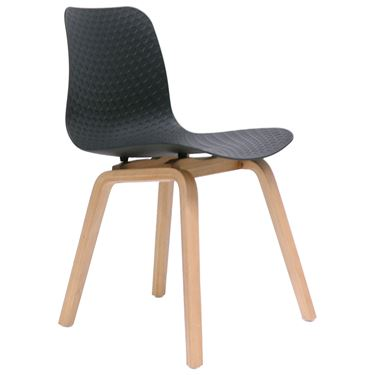 Lucent Timber 4-Leg Visitor Chair