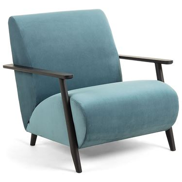 Martha Armchair with Wenge Ash Wood Frame