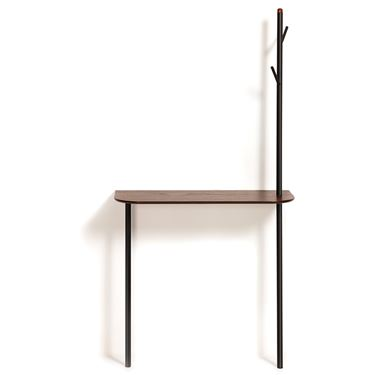 Marcella Wall Mounted Desk and Coat Rack