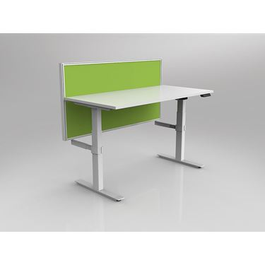 Leverage 2 Column Electric Height Adjustable Straight Desk