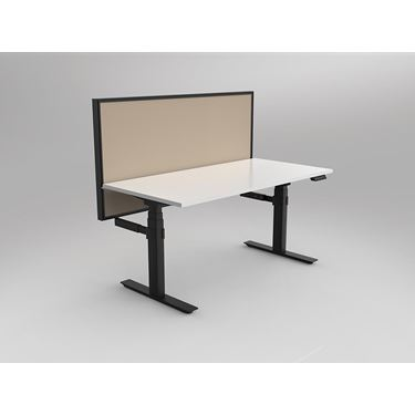 Leverage 3 Column Electric Height Adjustable Straight Desk
