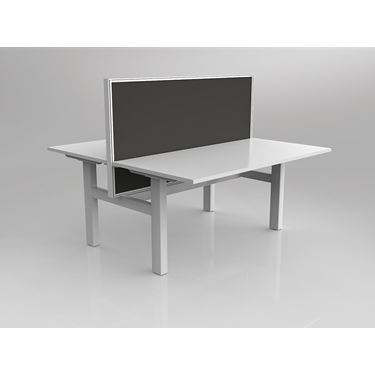 Leverage Fixed Height Double Sided Workstation