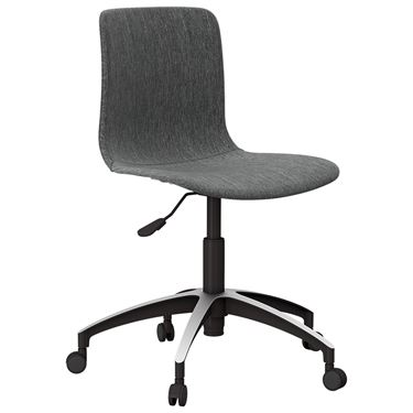 The Mixx Visitor Chair with Castors Fully Upholstered