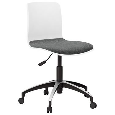 The Mixx Visitor Chair with Castors and Seat Pad with Arms