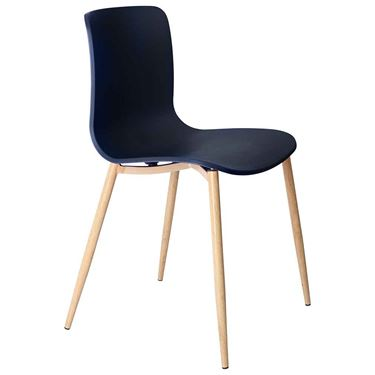The Mixx Woodgrain 4 Leg Visitor Chair