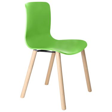 The Mixx Timber 4 Leg Visitor Chair