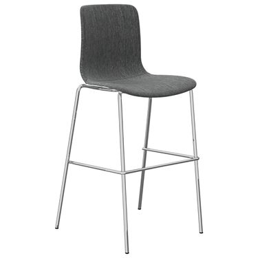 The Mixx Sled Base Stool fully upholstered with Arms
