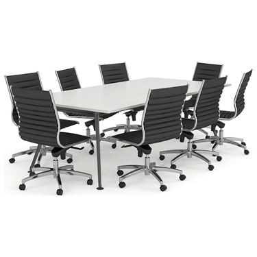 Modus Medium Back Boardroom Chair - Thin Pad