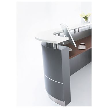Mosman 2750W J-Shape Reception Counter