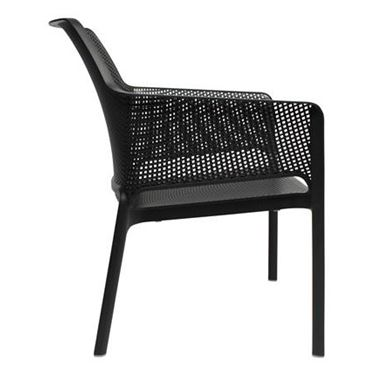 Nettie Low Rider Cafe Chair with Arms