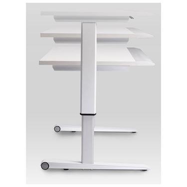 New-Matic Height Adjustable Desk with Sharknose Edge
