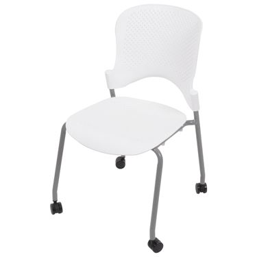 Olive 4 Leg Visitor Chair (No Arms)