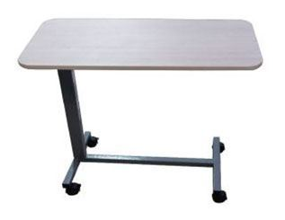 Overbed Height Adjustable Table - Compact Laminate