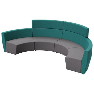 Arcadia 1.5 Seater Outer-Curve Standard Back (45 degree)