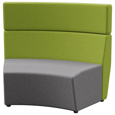 Arcadia 1.5 Seater Outer-Curve Tall Back (45 degree)