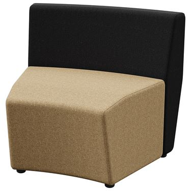 Arcadia 1 Seater Outer-Curve Standard Back (30 degree)