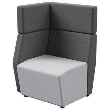 Arcadia Corner Seater Tall-Back - Right Hand