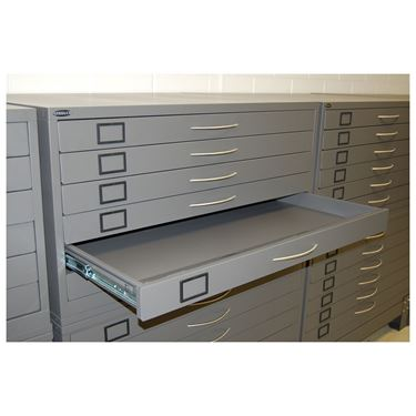 Steelco 6 Drawer Plan Cabinet