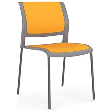 Play 4 Leg Chair with Upholstered Seat and Back