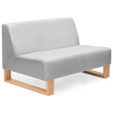 Rafter Sled Base Lounge Chair